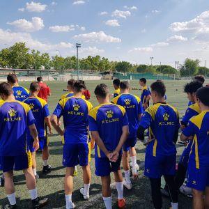 futbolistas entrenando en el programa pif