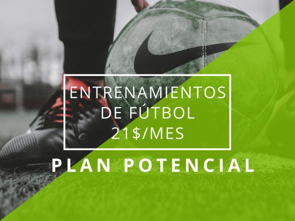 plan entrenamiento online potencial futbalia