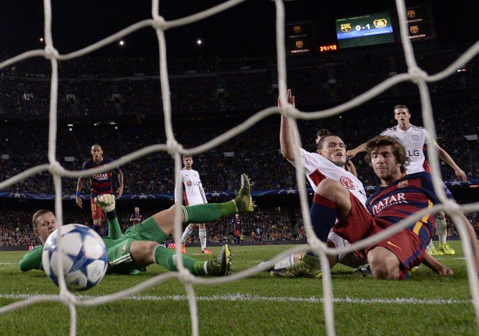 Barcelona-Bayer Leverkusen en imágenes