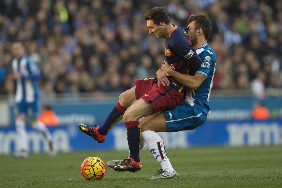 Espanyol-Barcelona en imágenes
