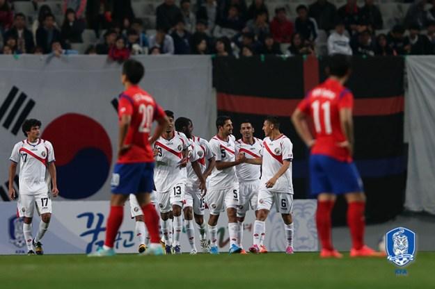 En comparación con el amistoso de Corea del Sur, se realizarón varios cambios de juegadores. Foto: Korea Football Asociation
