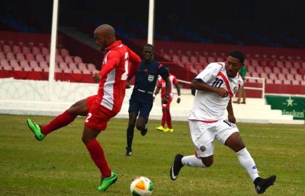 Aunque los dirigidos por Paulo César Wanchope lo intentaron, los cubanos aprovecharon y sacaron partida del marcador.