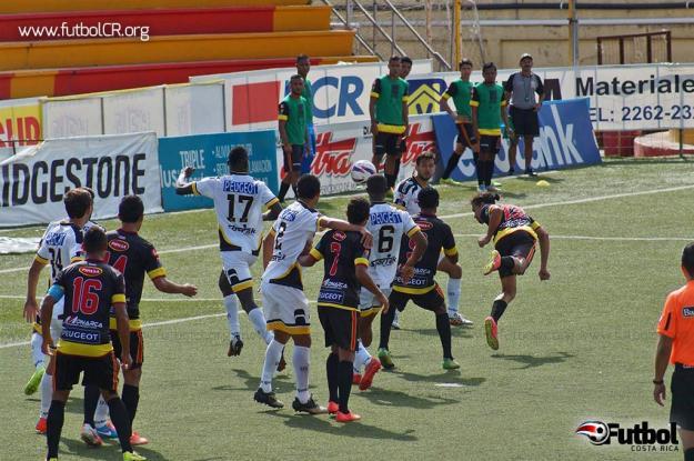 Belén fue claro dominador del encuentro desde la mitad del primer tiempo. Foto: Adrián Escalante para Futbol Costa Rica