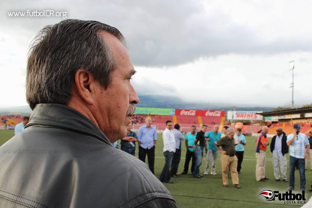 Luis Enrique Gamboa, presidente del Club de Fútbol UCR. Foto de archivo.