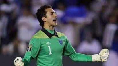 Ricardo Jerez, celebrando un gol de Chapin.  (Foto: Objetivo)