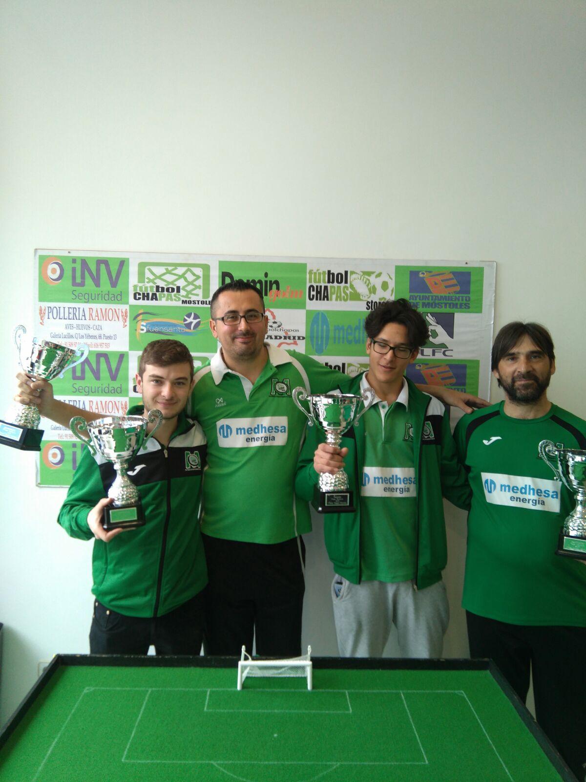 Adri consigue su primera Copa de Móstoles
