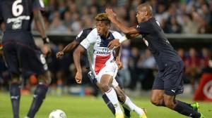 Coman en la Trophée des Champions contra el Girondins de Bordeaux