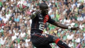 Doucouré en el duelo entre el Rennes y el ASSE