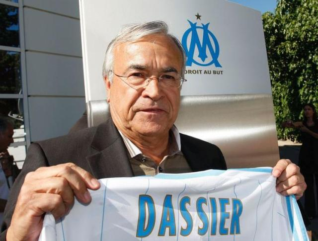 FOOTBALL - MISCS - FRENCH CHAMPIONSHIP 2009/2010 - OLYMPIQUE MARSEILLE - 23/06/2009 - PHOTO PHILIPPE LAURENSON / FLASH PRESS - NEW PRESIDENT JEAN CLAUDE DASSIER PRESS CONFERENCE