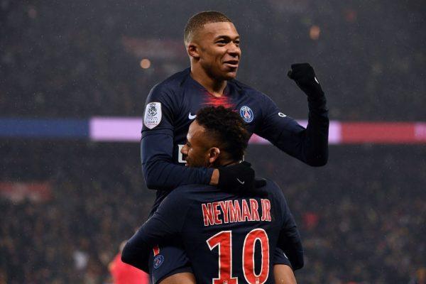 Mbappé Neymar PSG