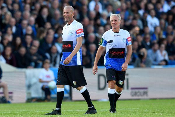 Deschamps Zidane