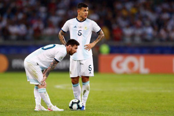 Messi, Paredes