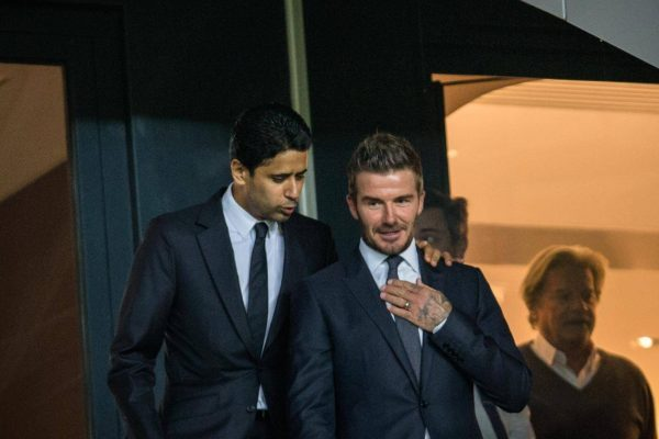 Beckham, Messi
