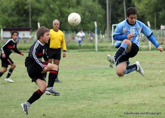 Ganaron Atlético y River Plate. Foto Javier Piedrabuena