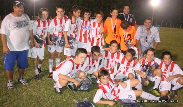 Fútbol infantil; Florida Campeón de la Copa Onfi