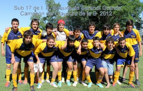 Boquita ganó el pasado año el torneo Sub 17 de la B