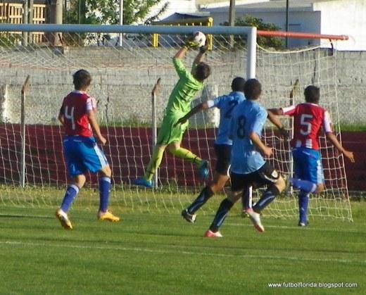 Foto del amistoso internacional sub15. Foto Javier Piedrabuena