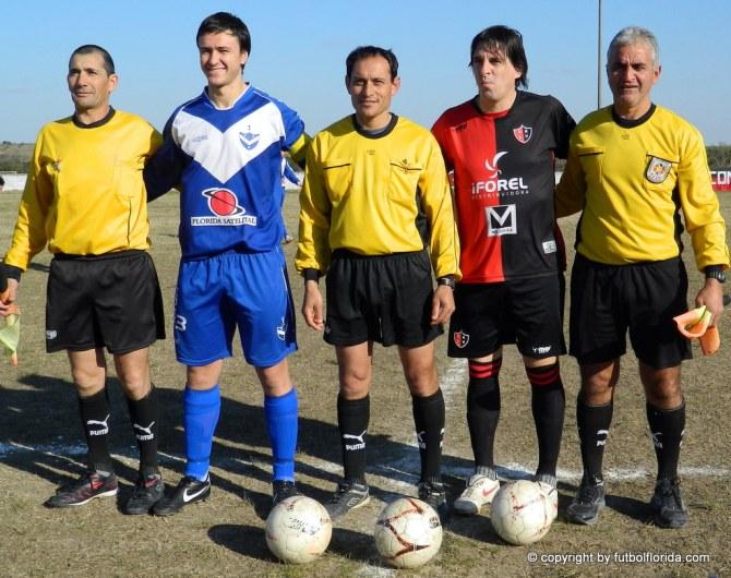 Santarcieri, Castro, Damián, Ferreri y Castillo