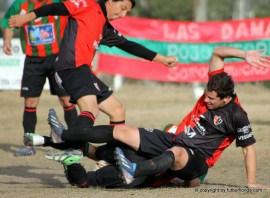 Ferreri y Rodriguez la pelean hasta en el piso