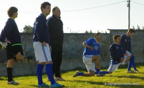 Los suplentes de Alianza con el Prof A Fernandez