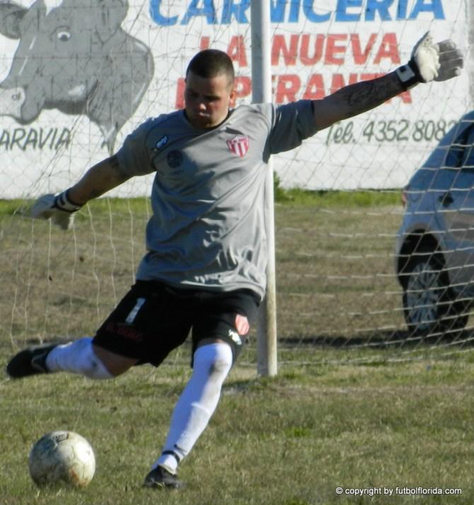 Joaquín Rullán debutó en 19 de Abril y apenas recibió un gol.