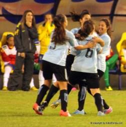 Mientras Uruguay festejaba, las brasileñas no daban credito a lo que les estaba pasando