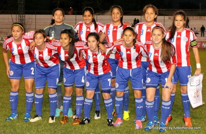 Paraguay ganó todos sus partidos de la serie