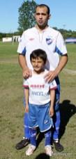 Pablo Amaro y su hijo