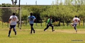 El gol de Alvaro Díaz que abre el marcador luego de gran pase de Abreo