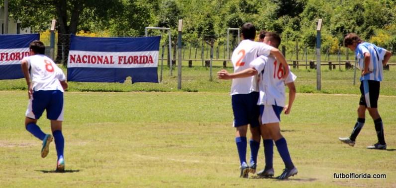 Nacional goleó a Mendoza