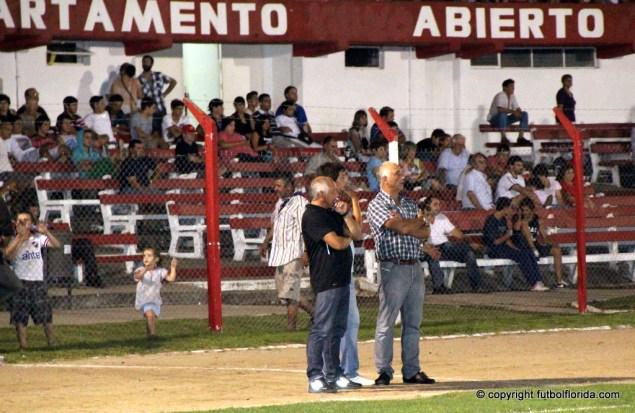Gerardo Marizcurrena junto a Canclini. Será Canclini el DT¿