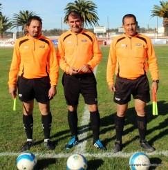 Alvaro Alanis , Denis Romero y Horacio García lo mas salidores