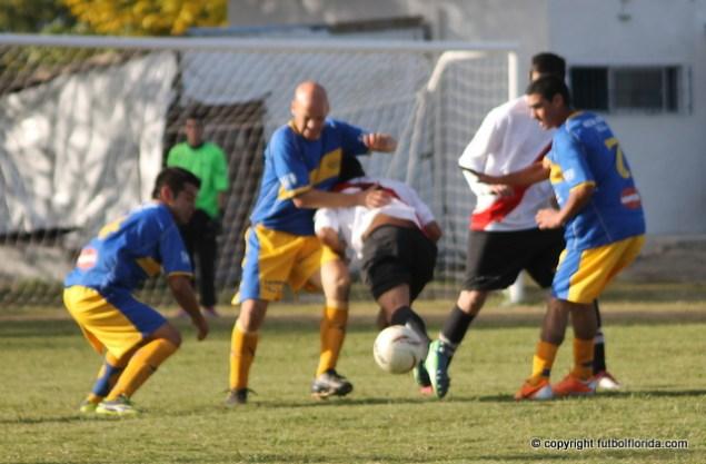 Gtan partido jugaron Libertad y Boquita finalizando igualados