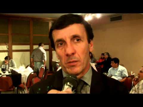 Presidente de OFI Sr Gustavo Bares