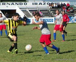 Goleada de 18 de Julio a Peñarol. Foto Ramón Mesías de Paydeportes
