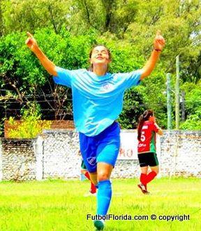 Flavia Castel, goleadora de Nacional de Artigas Foto josé E Paz