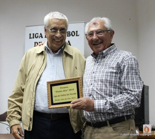 Edgardo A Ferreyra -Piedra Alta de Oro- junto a Gustavo Bello
