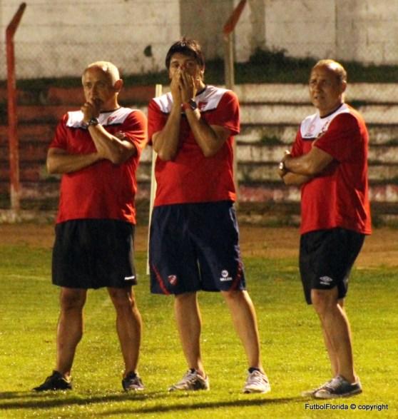 Canclini a la izquierda, Ferreri al medio y Bracco a la derecha de la foto.