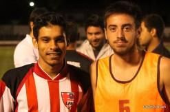Milton Artagaveytia con Rodrigo Pérez.