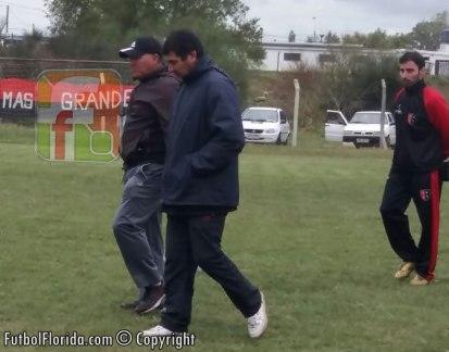 Pablo Fernandez y Jorge Sanchez. Foto Romina Amaro