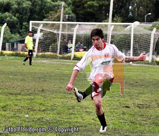 Joaquín Perdomo anotó el gol de Plaza