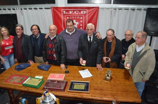 LFCD en sus 100 Años con ex presidentes en un gesto de madurez. Foto Victor D Rodriguez