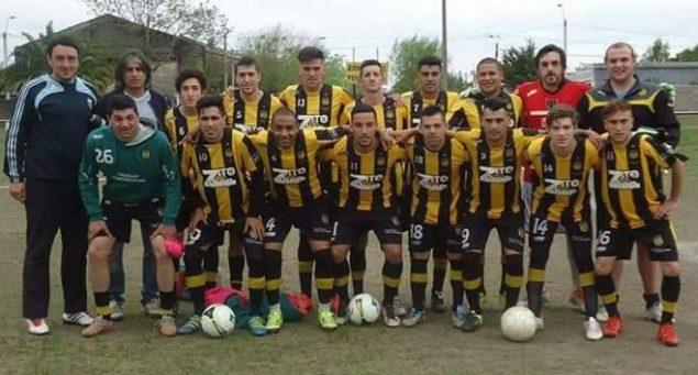 Peñarol Jrs de San Ramón con Germán Dalto en el arco