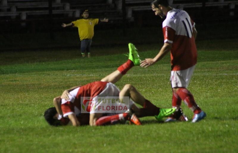 Pintado el volante derecho de Tacuarembó puso el empate a 1