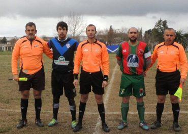 Fernando Martinez asistentes sy capitanes de Quilmes y Avenida