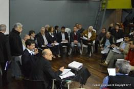 Comisiones sesionando. Foto Freddy Silva