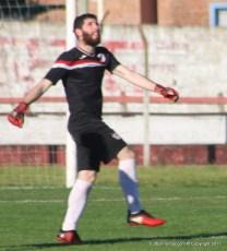 Andrés Cabrera, seguridad en el arco de River Plate