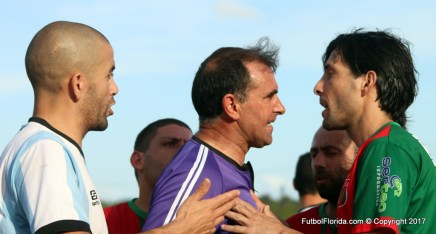 Alvaro Alanis el árbitro de la final