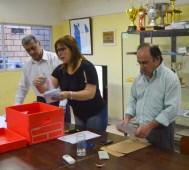 Escrutinio en Rivera. Foto Freddy Silva
