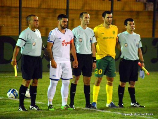 Martinez Soto y Trezza en la eliminatoria PAso. San Gregorio. Foto Ernesto Hornos
